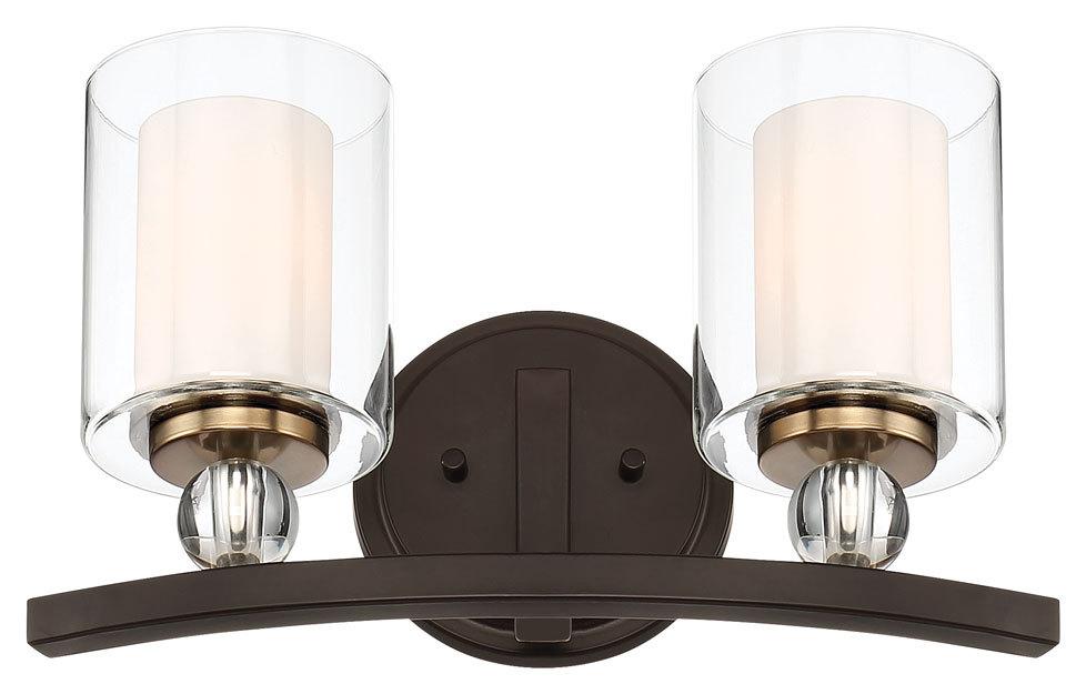 2 Light Bath Bar  sc 1 st  H&den Zimmerman - XOLights & 2 Light Bath Bar : 3072-416 | Hampden Zimmerman Electric